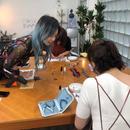 衣装デザイナー大門真優子の織りなすワークショップの講座の風景