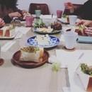 テーブルスタイリング&盛り付けレッスンの講座の風景