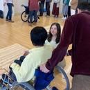 あなたの幸福資産を育てる「車椅子パートナー」の講座の風景