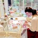 Atelier floral umbrellaの講座の風景