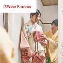 着付け不要の着物教室!3分で着れる着物と帯を作ろうの講座の風景