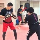 初心者大歓迎!ボクシング&トレーニング教室の講座の風景
