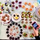 栄養士が教える♡ローフード料理教室の講座の風景
