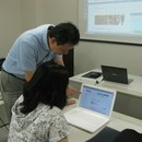神田ITスクールの開催する講座の風景