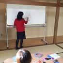 リンパケアスクール 喜悦の講座の風景