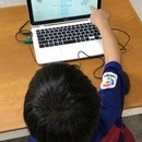 小学生プログラミング キッズプロの講座の風景