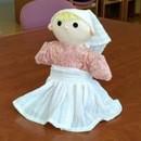 手作り布おもちゃで あったか保育 ほんわか子育ての講座の風景