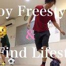 未経験・初心者のフリースタイルフットボール体験教室の講座の風景