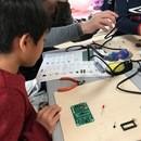 千葉幕張で手のひらサイズのパソコンとゲームを作ろうの講座の風景