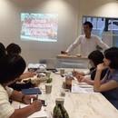 カフェ・飲食店開業及びビジネスモデル改善セミナーの講座の風景