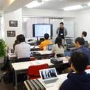 日本頭脳株式会社の開催する講座の風景