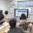 パソコンのお掃除からホームページ作成までの講座の風景