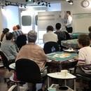健康マージャン下北沢教室の講座の風景