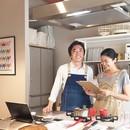 かわかみ家のおうちごはん教室☆オンライン料理教室の講座の風景