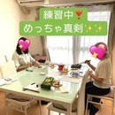 """「お箸塾""""Sakura-ju""""」の講座の風景"""