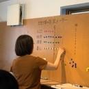 サスティナブル(持続可能)を探求するワークショップの講座の風景