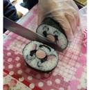飾り巻き寿司とフラワーゼリー~tomo-roll~の講座の風景