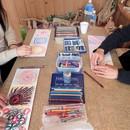 創造力を高める!ビジョンアートセラピー&瞑想教室の講座の風景