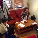 初心者のための英会話学習コミュニティ「エイコミュ」の講座の風景