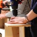 おうち木工教室 スマイルウッドの講座の風景