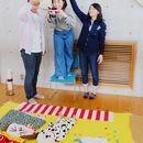福岡ちゃみのおひるねアートの講座の風景