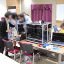 3d造形教室の講座の風景