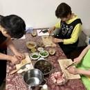 上海本番家庭料理教室の講座の風景