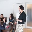 お仕事の「困った!」に元外資秘書・永田美保子の講座の講座の風景