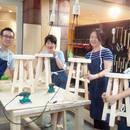 体験型DIYショップtukuriba(玉川高島屋S・Cガーデンアイランド1階)の開催する講座の風景