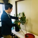 濱口志鳳 花研究所の講座の風景