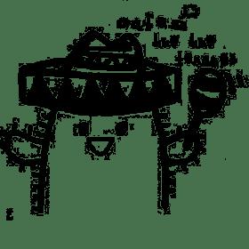 cafe huehue tenangoの団体ロゴ