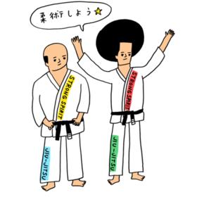 ストロングスピリット☆柔術 (グレイシー・ブラジリアン柔術)の団体ロゴ
