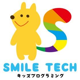子ども向けプログラミング教室「SMILE TECH」の団体ロゴ