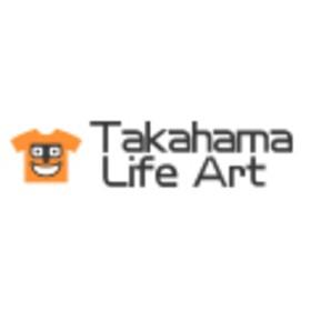 オリジナルプリント「タカハマライフアート」の団体ロゴ