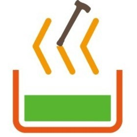 高齢者入浴アドバイザー協会の団体ロゴ