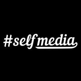 楽しく正しくWEB活用を学ぶコミュニティ「#selfmedia」の団体ロゴ