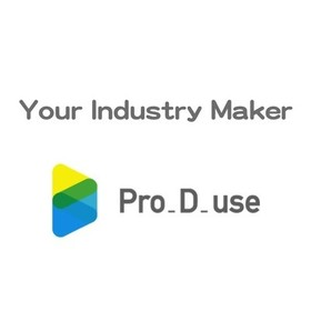 pro-d-use プロディーユースの団体ロゴ