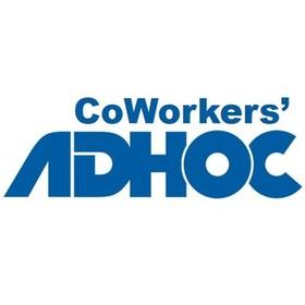 アドホックの団体ロゴ