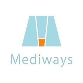 先生と一緒に作るホームページ講座「メディウェイズ・スクール」の団体ロゴ