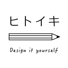 未来の自分にワクワクするDe:IY『ヒトイキ』の団体ロゴ
