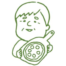 ピザミラノ姪浜店の団体ロゴ