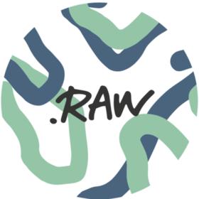 モーニングヨガ.RAWの団体ロゴ