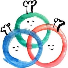 ボーダーレスクッキングの団体ロゴ