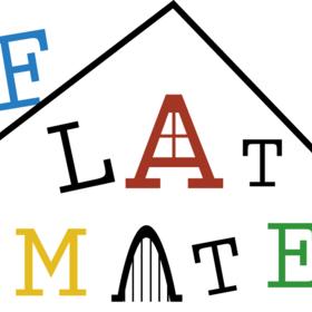 FLATMATEの団体ロゴ