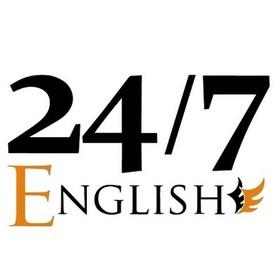 24/7Englishの団体ロゴ