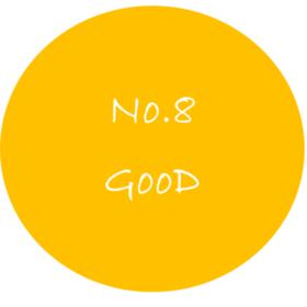 No.8GooDの団体ロゴ