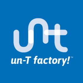 un-T factory!の団体ロゴ