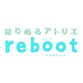 はじめるアトリエrebootの団体ロゴ
