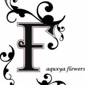 aquxya flower schoolの団体ロゴ