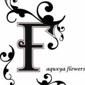 aquxya flower shool札幌校の団体ロゴ